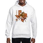 Texas Cowboy & Longhorn Hooded Sweatshirt