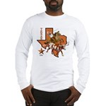 Texas Cowboy & Longhorn Long Sleeve T-Shirt