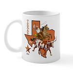 Texas Cowboy & Longhorn Mug