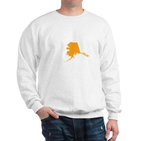 Orange Alaska Sweatshirt