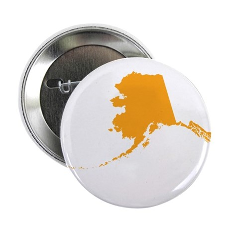 "Orange Alaska 2.25"" Button (100 pack)"