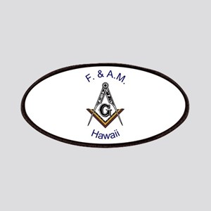 Hawaii Square and Compass Patches