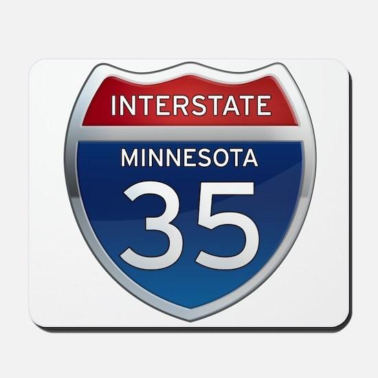 Interstate 35 - Minnesota Mousepad