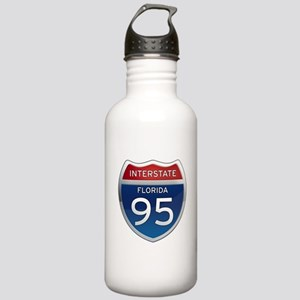 Interstate 95 - Florida Stainless Water Bottle 1.0