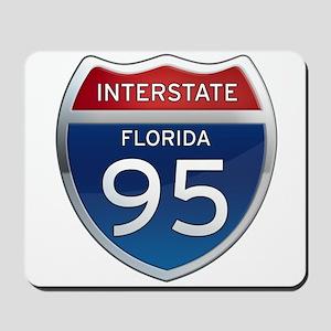 Interstate 95 - Florida Mousepad