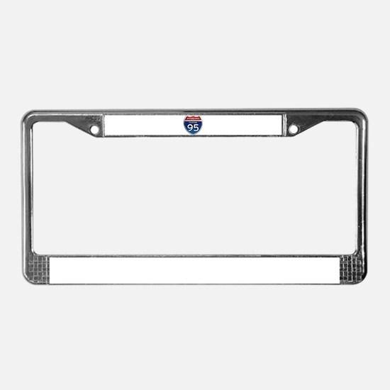 Interstate 95 - Florida License Plate Frame