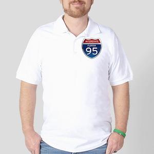 Interstate 95 - Florida Golf Shirt