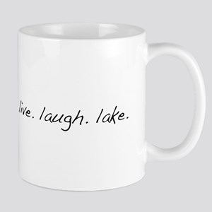 Live. Laugh. Lake. Mug