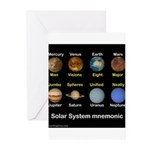 Planets Greeting Cards (Pk of 10)
