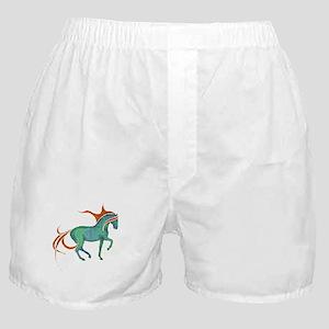 mosaic horse Boxer Shorts