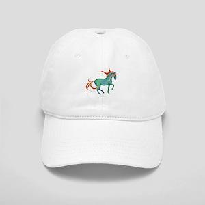 mosaic horse Cap