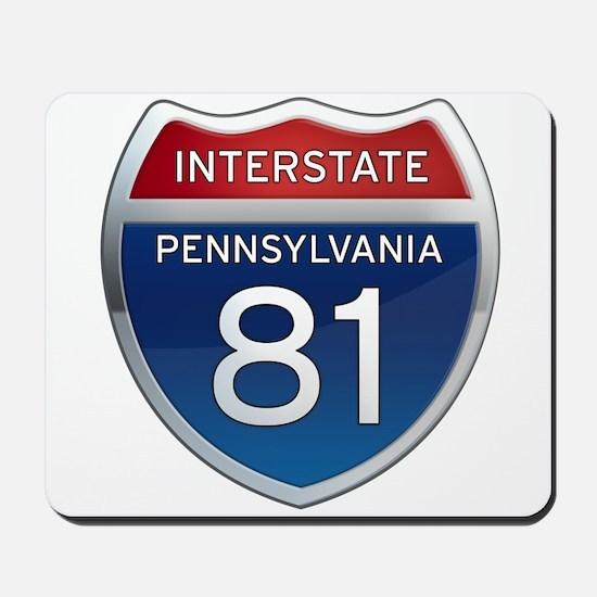 Interstate 81 - Pennsylvania Mousepad