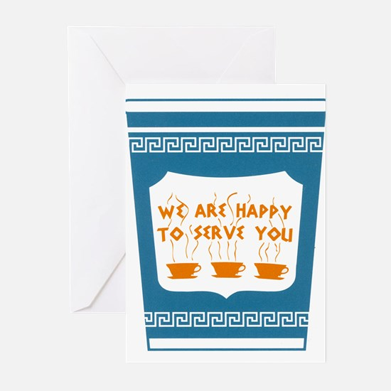 """NYC """"Blue Cup"""" Greeting Cards (Pk of 10)"""