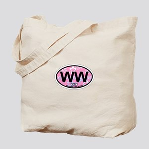 Wildwood NJ - Oval Design Tote Bag