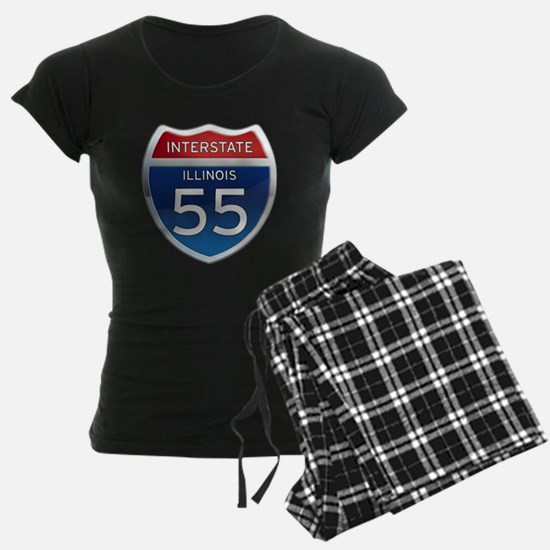 Interstate 55 - Illinois Pajamas