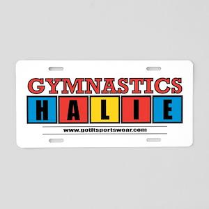 Halie Aluminum License Plate