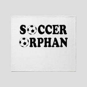 Soccer Orphan Throw Blanket