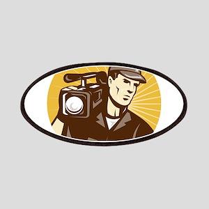 cameraman filmcrew Patches