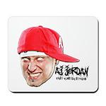 AJ Jordan Mousepad Head