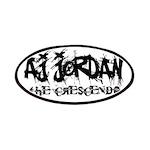 AJ Jordan The Crescendo Jacket Sleeve Patches