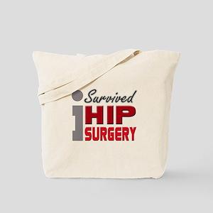 Hip Surgery Survivor Tote Bag