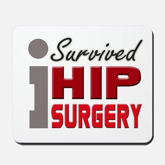 Hip Surgery Survivor Mousepad