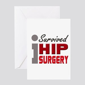 Hip Surgery Survivor Greeting Card