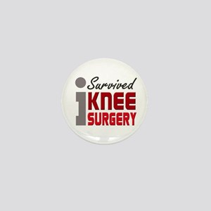 I Survived Knee Surgery Mini Button