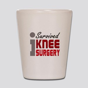 I Survived Knee Surgery Shot Glass