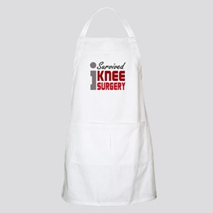 I Survived Knee Surgery Apron