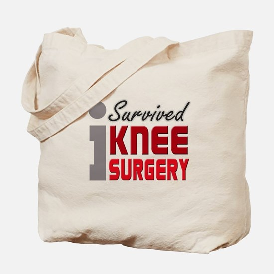 I Survived Knee Surgery Tote Bag