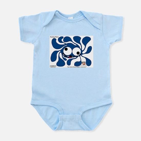 Funky Sun! In Denim Infant Bodysuit
