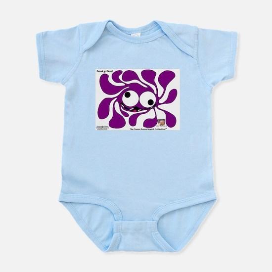 Funky Sun! In Purrpl Infant Bodysuit