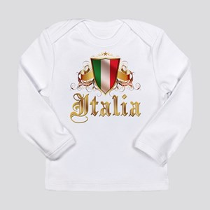 italian pride Long Sleeve Infant T-Shirt