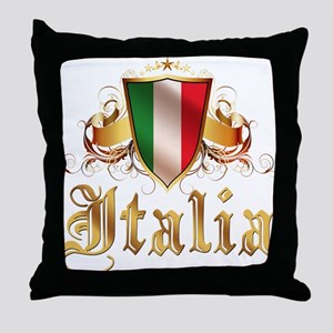 italian pride Throw Pillow