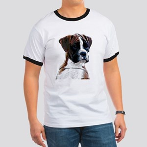 Brindle Boxer Puppy Ringer T