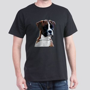 Brindle Boxer Puppy Dark T-Shirt