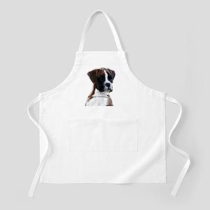 Brindle Boxer Puppy Apron