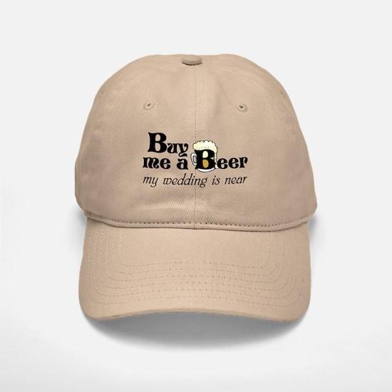 Buy Me A Beer Baseball Baseball Cap