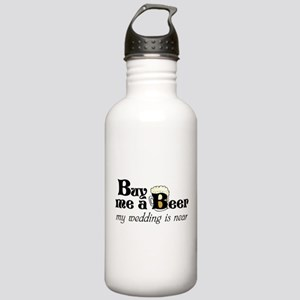 Buy Me A Beer Stainless Water Bottle 1.0L