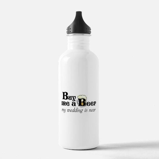 Buy Me A Beer Sports Water Bottle