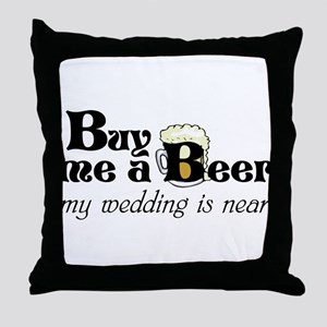 Buy Me A Beer Throw Pillow