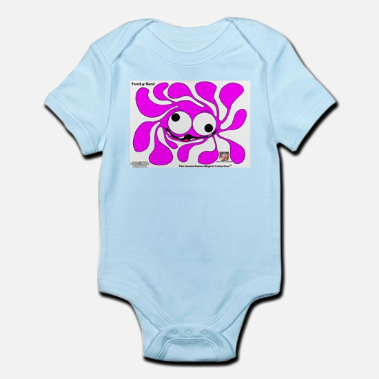 Funky Sun! In PinQ Infant Bodysuit