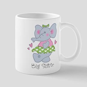 Elephant Big Sister Mug