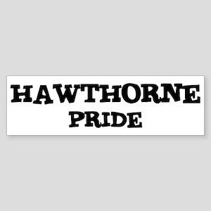 Hawthorne Pride Bumper Sticker