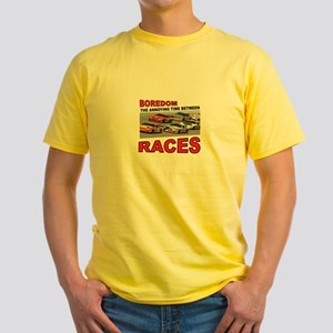 START YOUR ENGINES Yellow T-Shirt