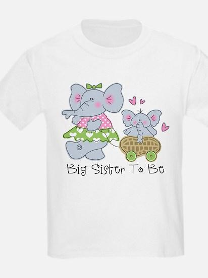 Elephant Future Big Sister T-Shirt