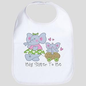 Elephant Future Big Sister Bib