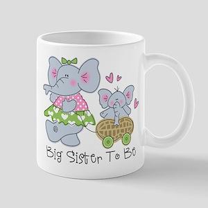 Elephant Future Big Sister Mug