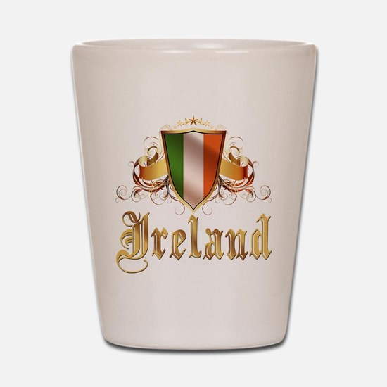 Irish pride Shot Glass